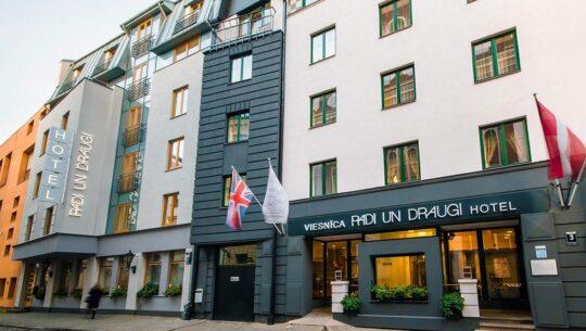 Hotel in Riga Old Town |Radi un Draugi
